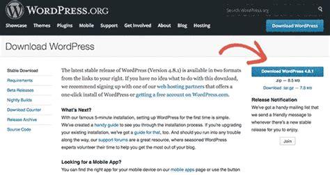 install wordpress   subdirectory step  step