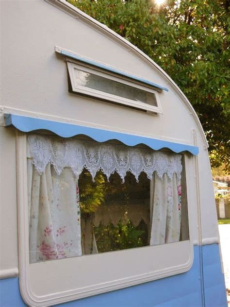 exterior blue valance   window    double  awning anchor