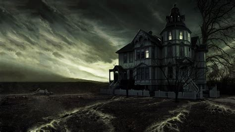 scary house backgrounds