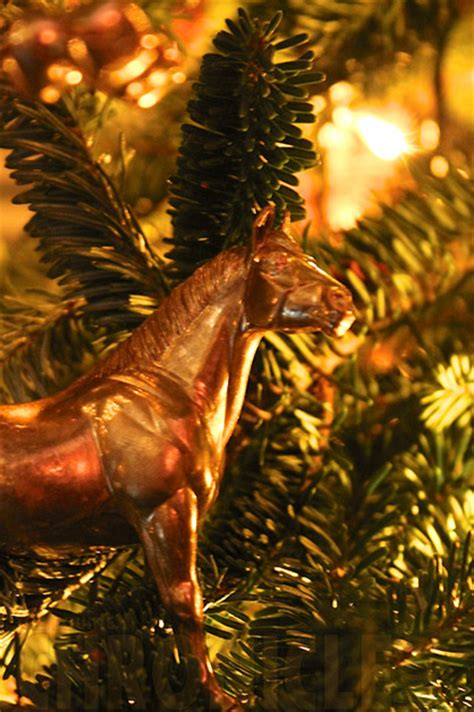 diy equestrian christmas decorations part  equine