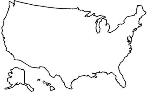 America Clipart Outline Usa