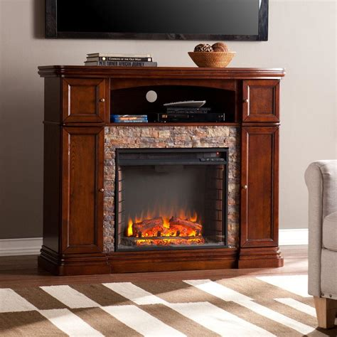 tv stands with fireplaces southern enterprises westchester 47 5 in faux
