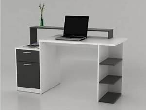 Schreibtisch Mit Stauraum : schreibtisch wei grau online bestellen bei yatego ~ Eleganceandgraceweddings.com Haus und Dekorationen
