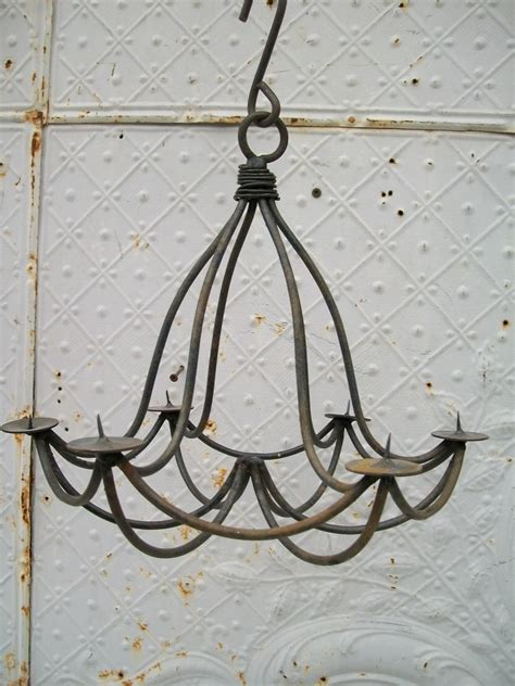 15 quot wrought iron mini drape chandelier candle lighting