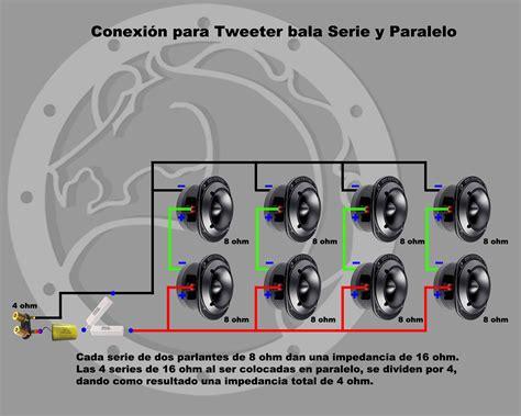 conexiones muy simples para parlantes crossover pasivo cajas ac 250 sticas aparelho de som