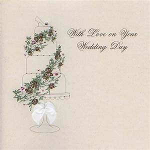mojolondon with love on your wedding day cake card by With images of wedding day cards