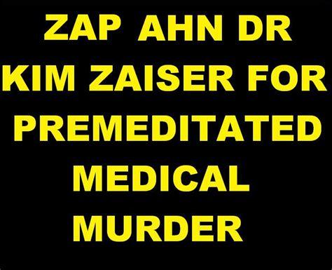 zap zaiser  murder oneterror  intubationzap