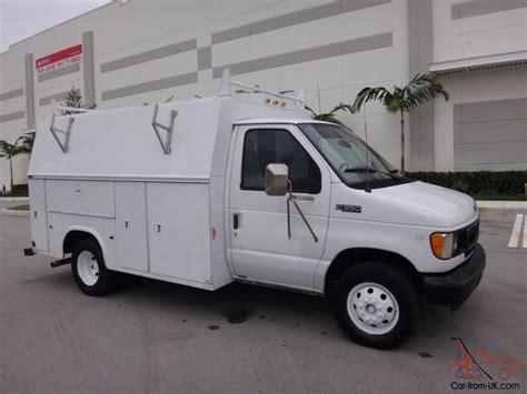 2002 Ford E-series Van Kuv Service Utility Body Fl Truck
