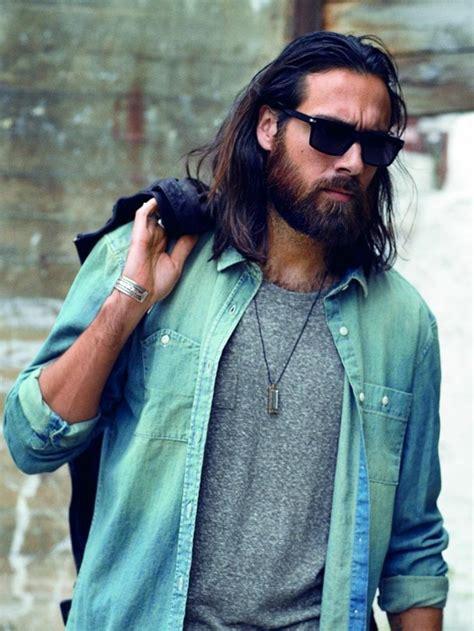 cheveux long homme exemples  astuces pour se pousser
