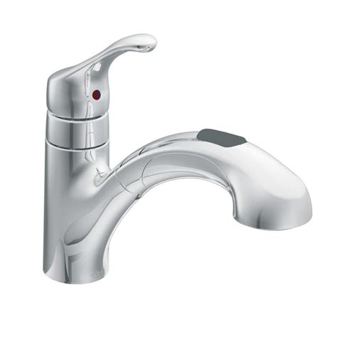 moen kitchen faucet pull out spray replacement moen ca87316c chrome pullout spray from the renzo collection faucetdirect com