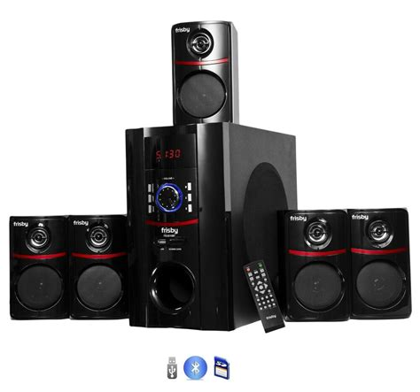 5 1 surround system fs5010bt bluetooth pc laptop computer 800 watt home theater 5 1 speaker system ebay