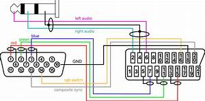 15 Pin Vga Cable Diagram  Diagram  Wiring Diagram Images