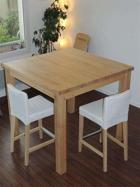 table de cuisine ikea bois table bar de cuisine ikea