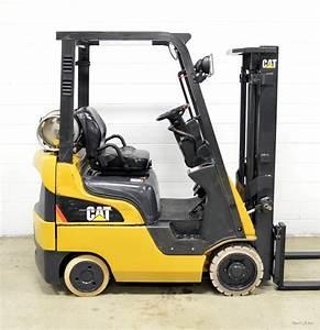 Nice  Caterpillar 3000 Lb Lpg Forklift 3 000 Cat C3000