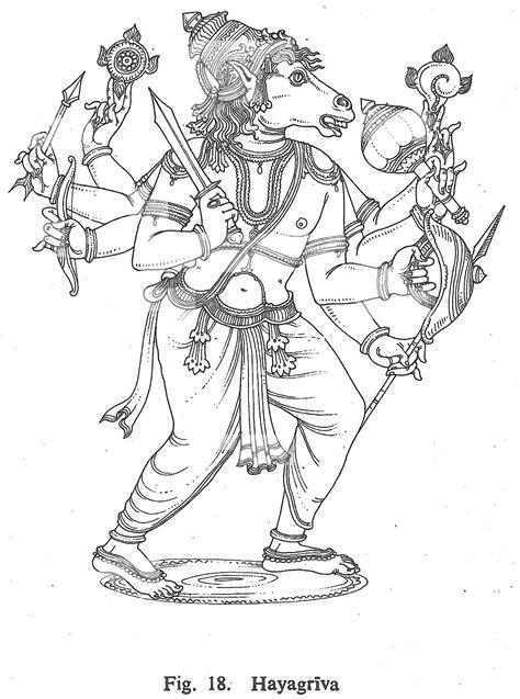 Hayagriva | Hindu Gods Coloring Book | Pinterest