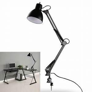 Lampe Zum Klemmen : clamp mount lamp e27 e26 ac85 265v ~ Orissabook.com Haus und Dekorationen