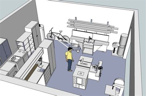 workshop garage design layout    misses