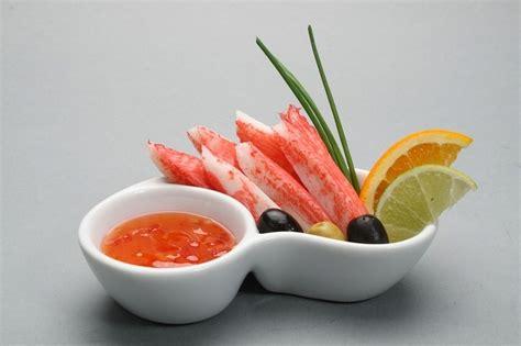 Krabju nūjiņu un puķkāpostu salāti