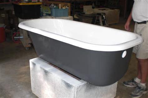 cast iron tub restoration custom tubs inc cast iron tub refinish project photo