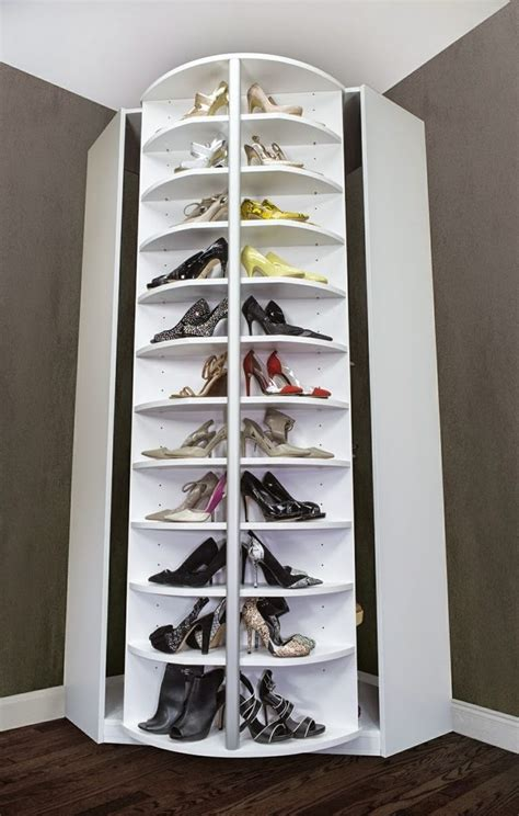 25 best ideas about rotating shoe rack on