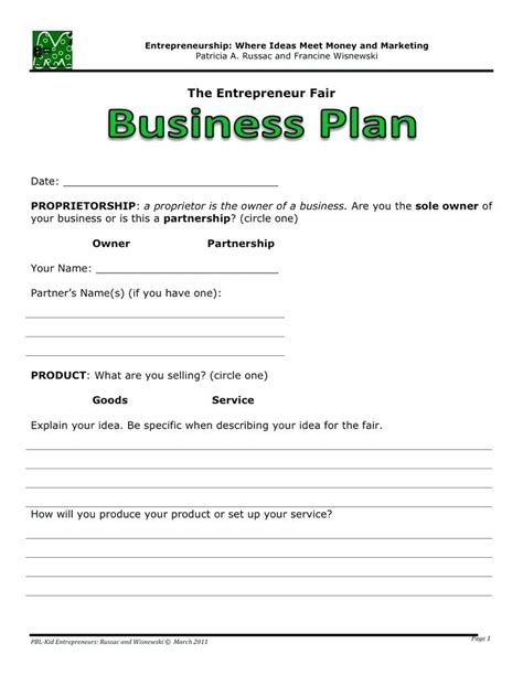 business template word free download template microsoft business plan template
