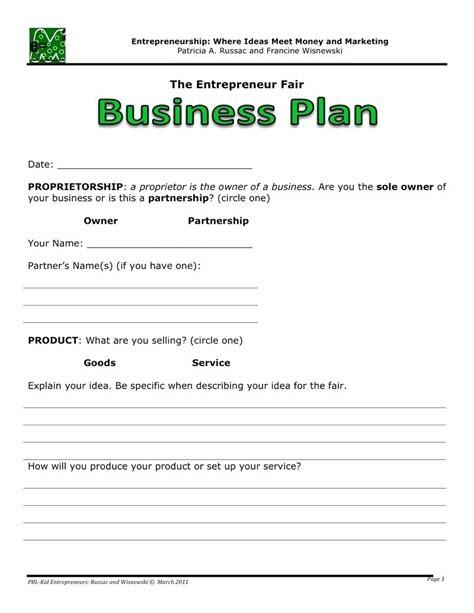 Business Plan Template Word Template Microsoft Business Plan Template