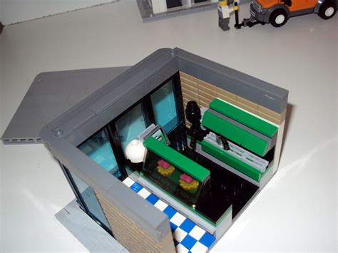 Interior of the candy shop. MOC - Coffee Shop - LEGO Town - Eurobricks Forums