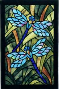 Dragonfly Stained Glass Pattern