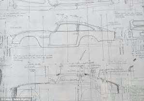 Bond blueprints for gadget-packed Aston Martin up for ...