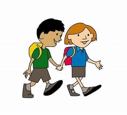Walk Clipart Primary 17th Published