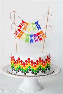 peppa pig cake topper 10 diy birthday cake ideas paper crush