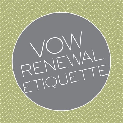 a guide to vow renewal etiquette advice and ideas wedding pro tip and married couples on