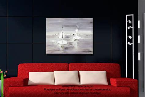 canapé bois et chiffon prix tableau gris voyage en mer grand format rectangle