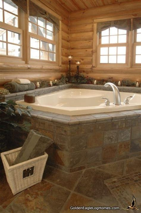 25+ Best Ideas About Log Home Bathrooms On Pinterest Log