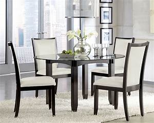 Glass Kitchen Tables And Chairs Marceladick com