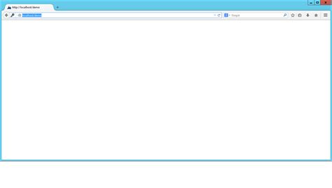 Blank Web Page Showing After A New