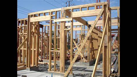 Structural Steel Erection & Wood Framing - YouTube