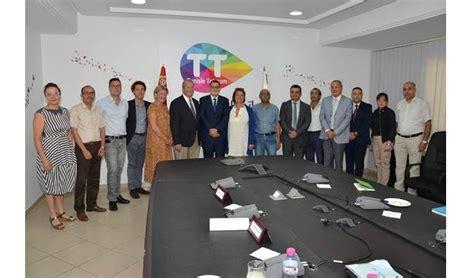 tunisie telecom siege une délégation officielle de la ville de suresnes reçue