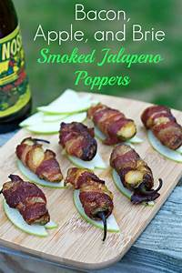 Smoked Jalapeño Poppers with Bacon + Apple +Brie - Tasty ...