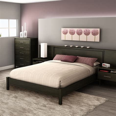 South Shore Gravity 38in Tall Queen Platform Bed & Reviews