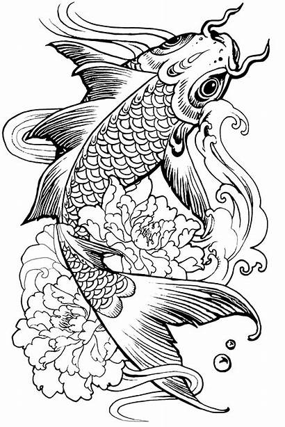 Coloring Pages Animal Fish