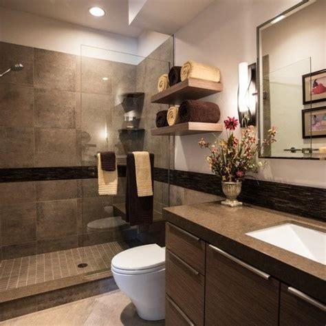 modern bathroom colors brown color shades chic bathroom