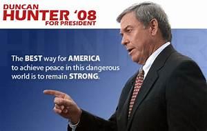 2008 Presidential Campaign Blog: Duncan Hunter