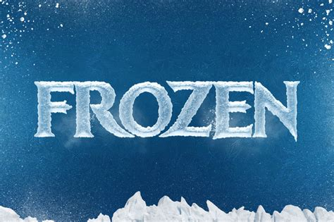 chilly ice cool text effect mockup  psd designhooks