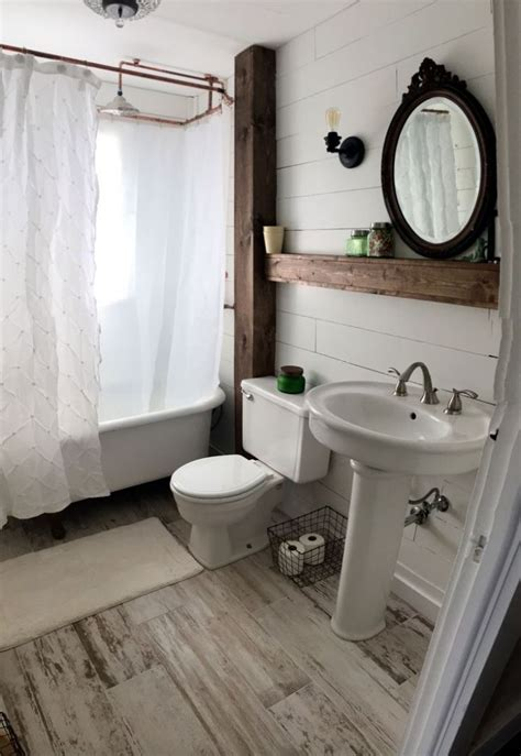 ideas  vintage  modern farmhouse bathroom decor