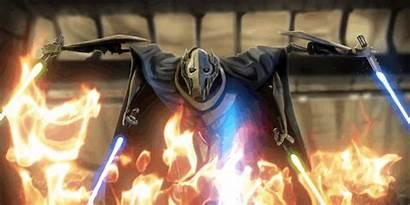 Grievous General Wars Battlefront Star Lightsaber Hero