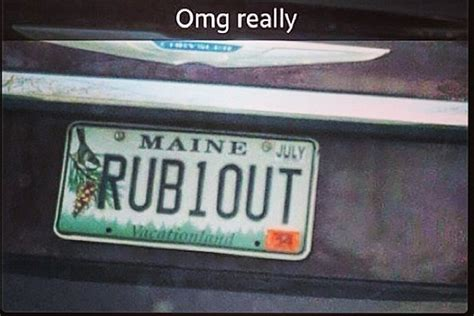 Maine Dmv Vanity Plates this vanity plate somehow squeezed through the maine dmv
