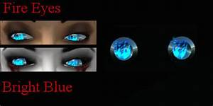 Second Life Marketplace - Burning Contacts Fire Eyes ...