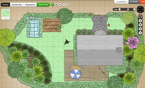 creating a landscape plan garden design plans plan for long thin free planners ideas gardena affbbddf modern garden