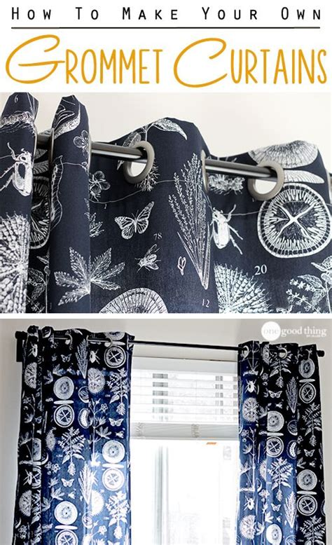 Make Your Own Living Room Curtains by Make Your Own Grommet Curtains In An Afternoon Make